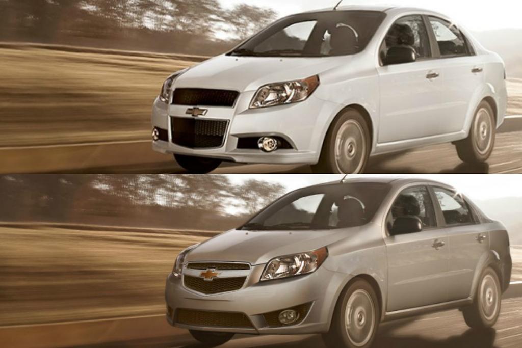 Ligera Actualizacin Para El Chevrolet Aveo 20175 Ya Disponible