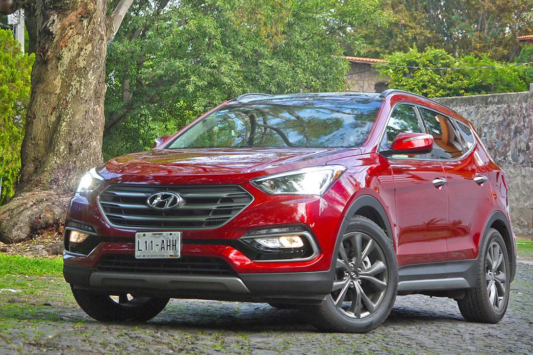 A Prueba Hyundai Santa Fe Y Sus Rivales Ford Edge Y Jeep Grand Cherokee Soloautos Mx