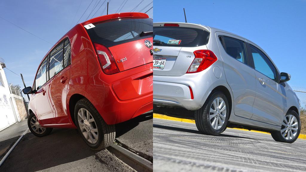 Chevrolet Spark Vs Volkswagen Up Dos Urbanos Eficientes Y